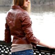Дизайнерская кожаная куртка