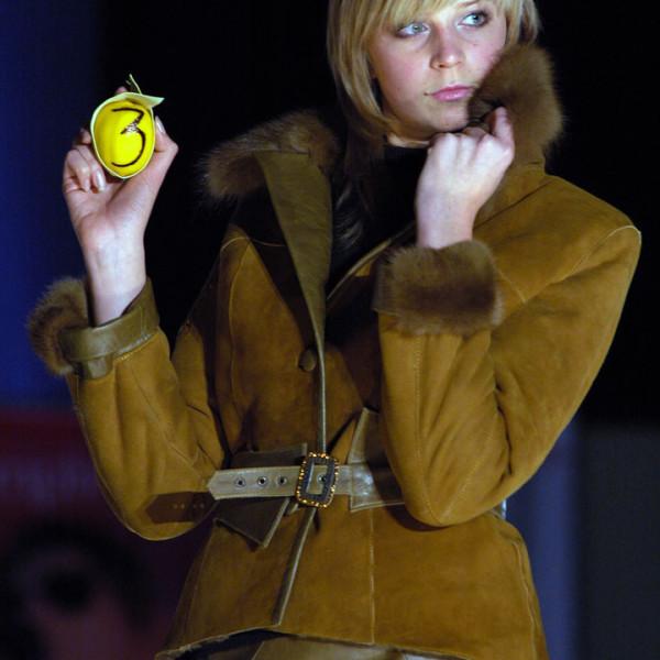 Куртка-дубленка с норкой