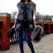 Куртка из чернобурки