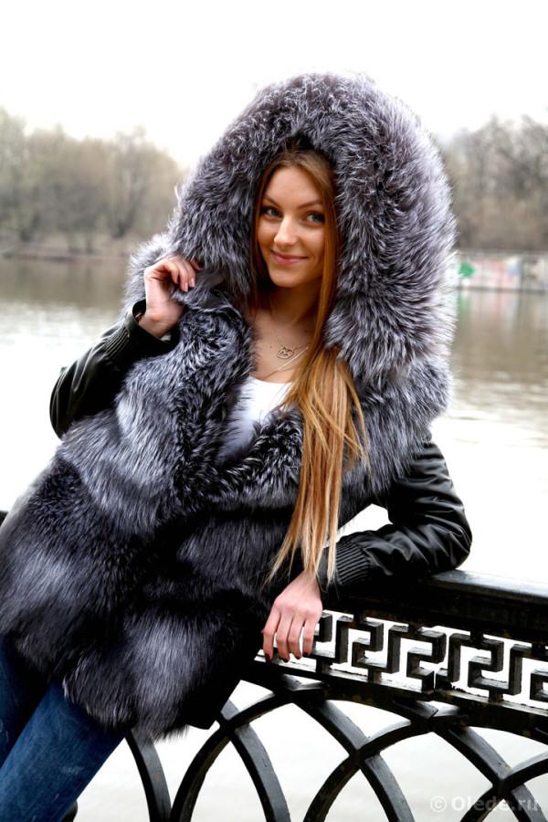 Куртка из чернобурки 24