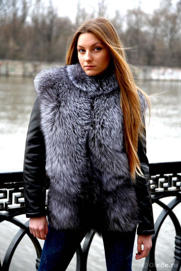 Куртка из чернобурки 25