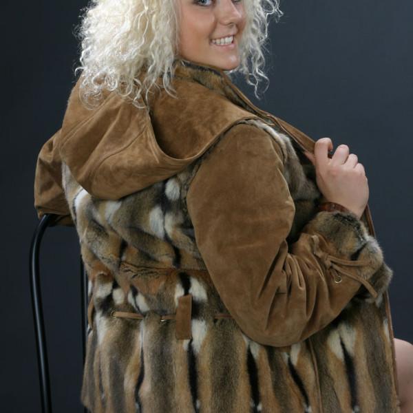 Куртка из ондатры