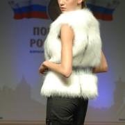 Меховой жилет из арктической лисы