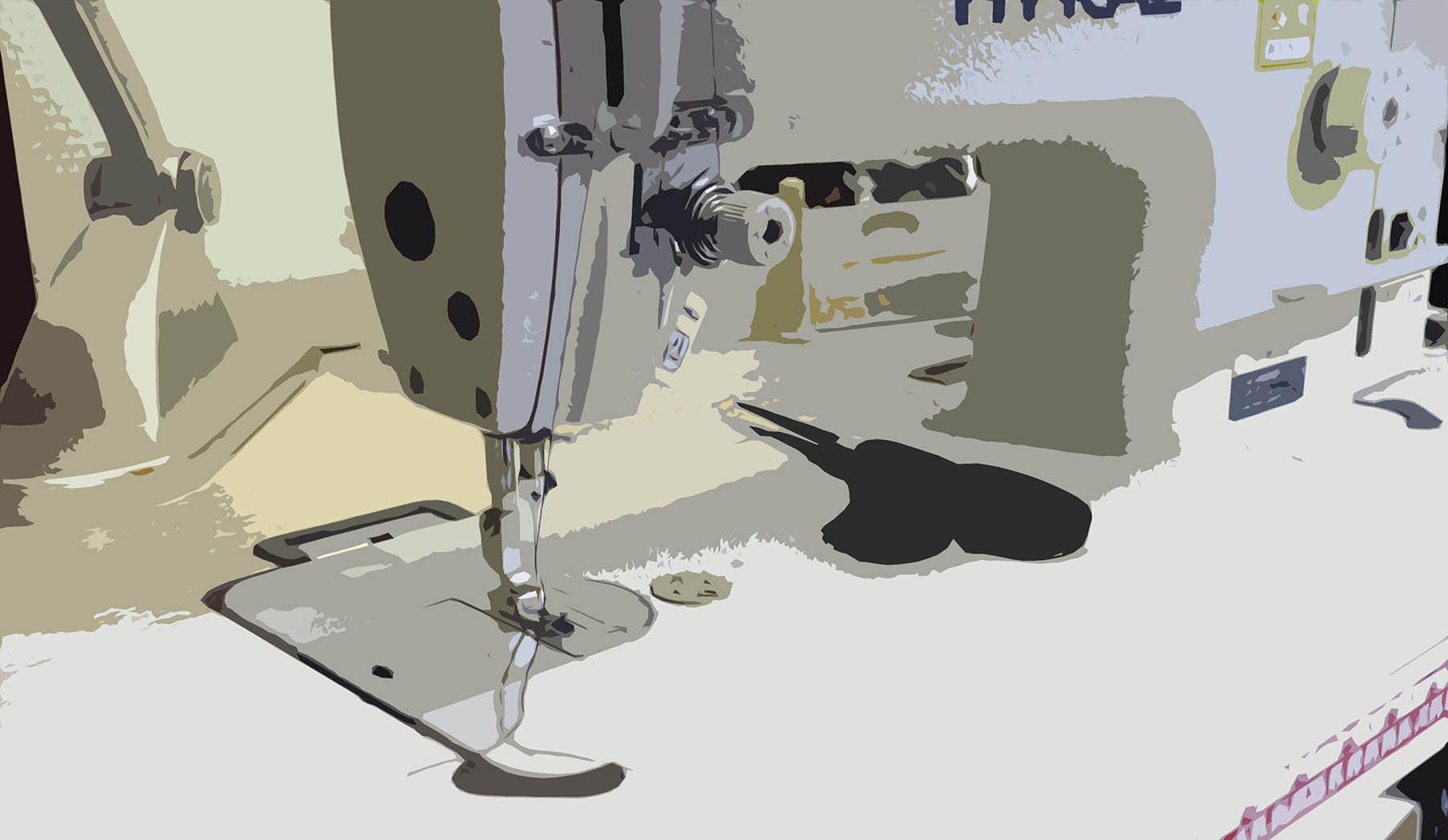 Слайд ремонт ткани