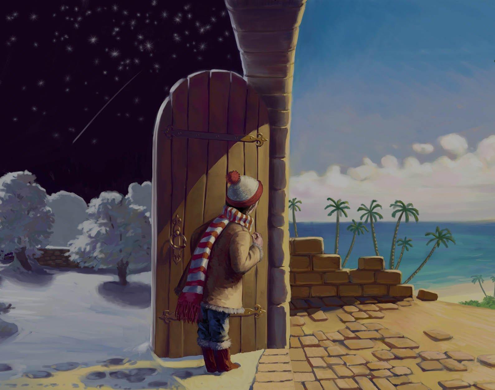 Слайд из зимы в лето